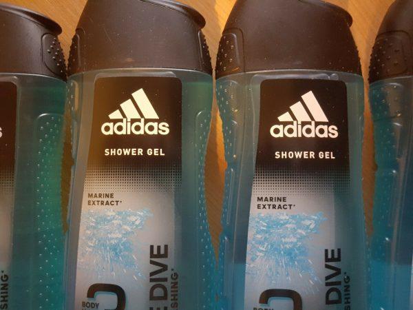 Shower gel - Adidas Dynamic Pulse 3 In 1 Body