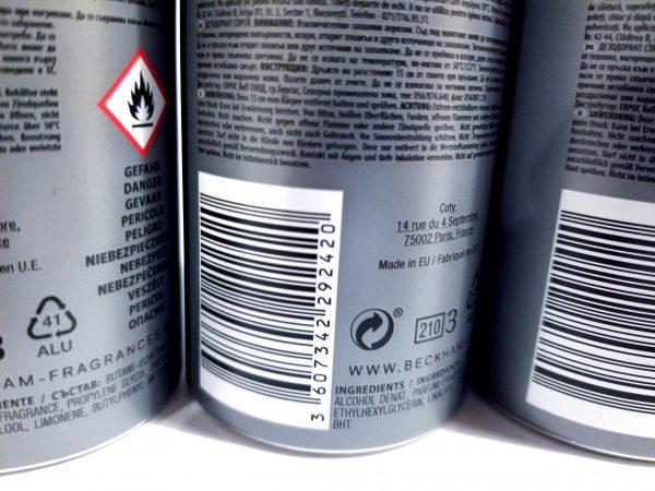 David Beckham Homme Deodorant Spray - Product